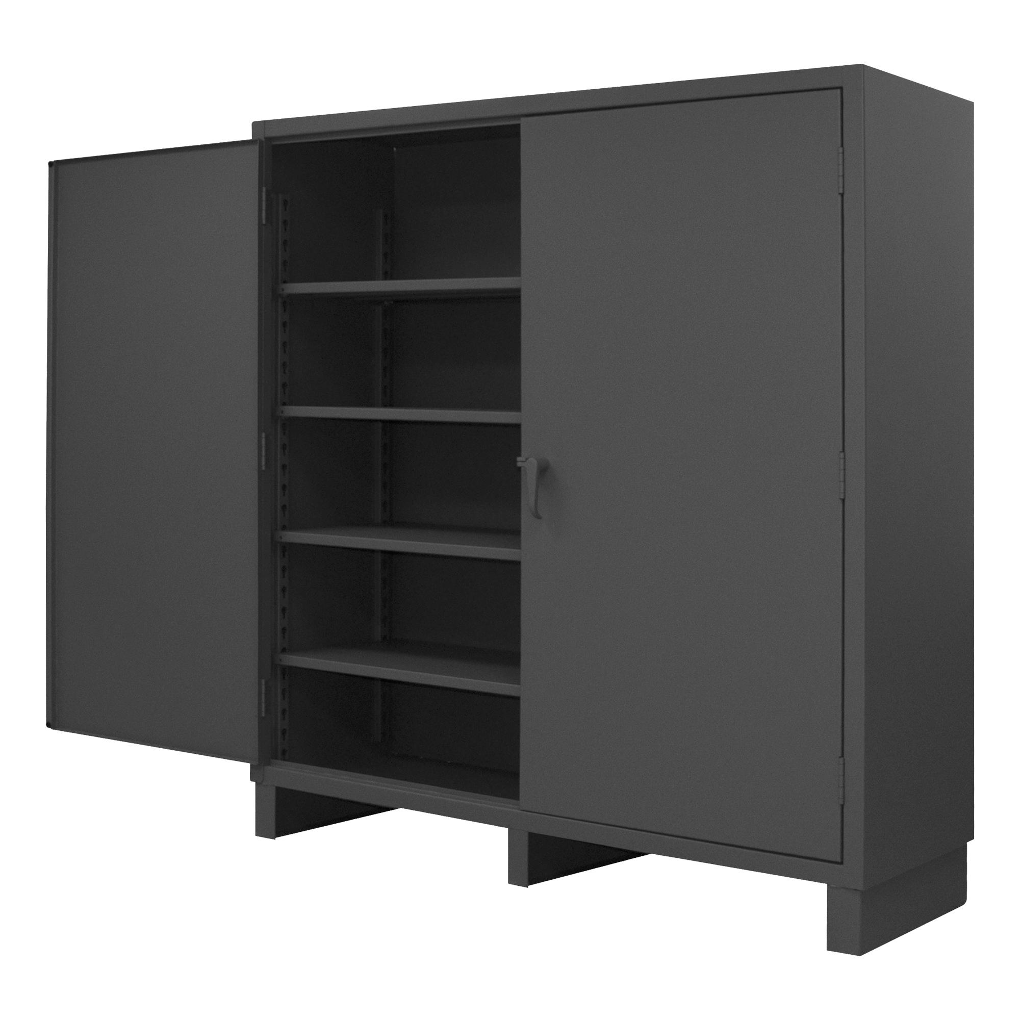 Cabinet 12 Gauge 4 Shelves 60 X 24 X 78 Durham Manufacturing